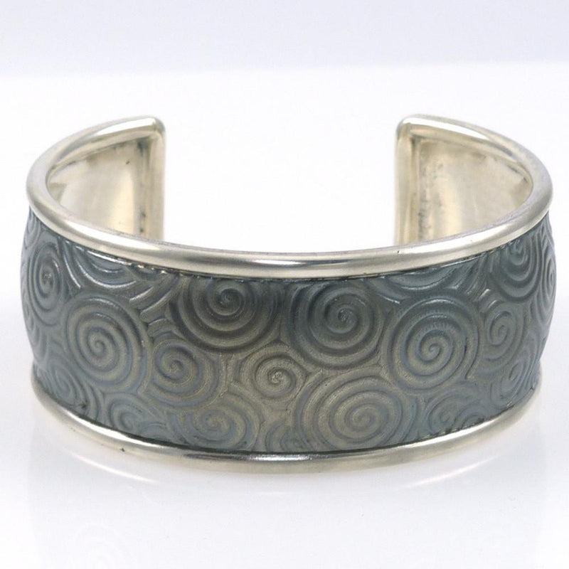 Silver Spiral Cuff - Jewelry - Pete Johnson - 2