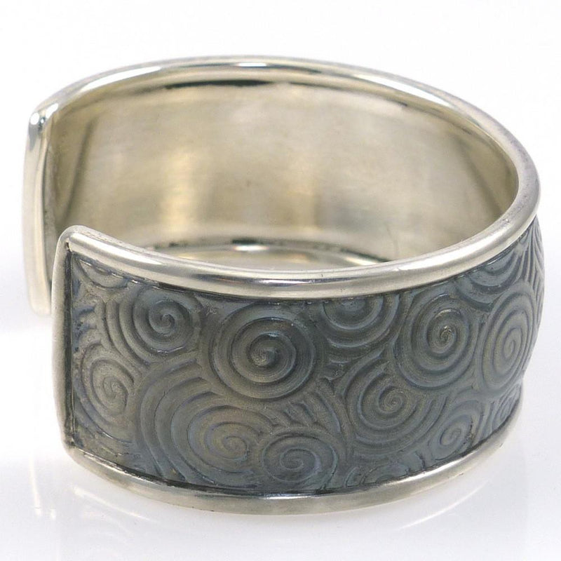 Silver Spiral Cuff - Jewelry - Pete Johnson - 3