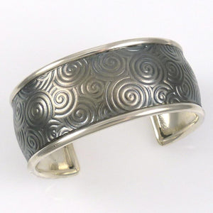 Silver Spiral Cuff - Jewelry - Pete Johnson - 1