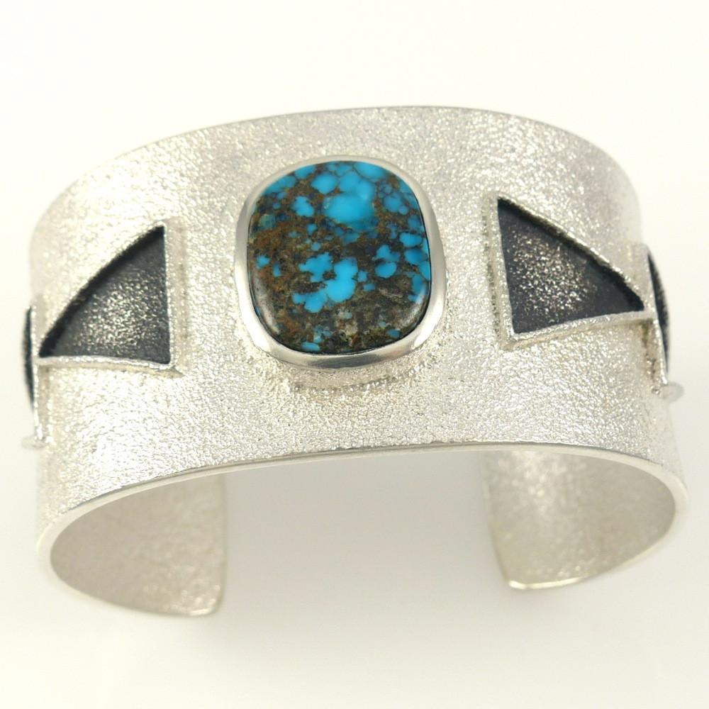 Candelaria Turquoise Cuff - Jewelry - Darryl Begay - 1