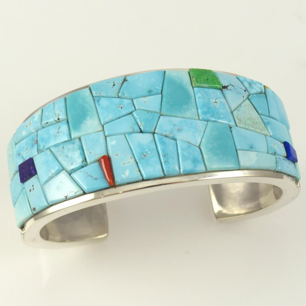 Cobble Inlaid Cuff - Jewelry - Noah Pfeffer - 1