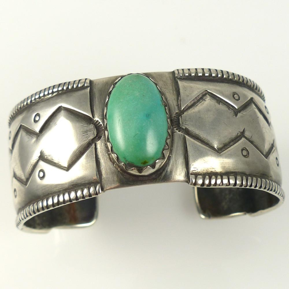 Fox Turquoise Cuff - Jewelry - Jock Favour - 1