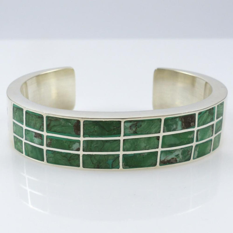 Inlaid Turquoise Cuff - Jewelry - Federico - 3