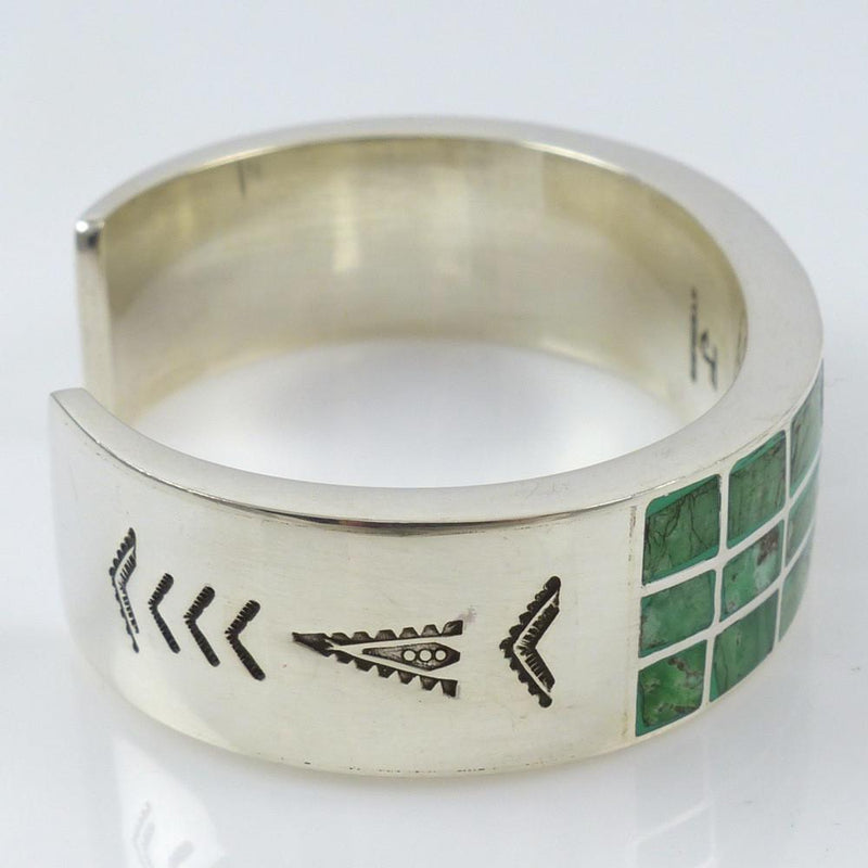 Inlaid Turquoise Cuff - Jewelry - Federico - 4