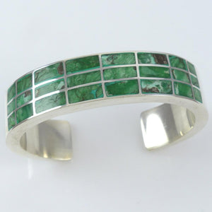 Inlaid Turquoise Cuff - Jewelry - Federico - 1