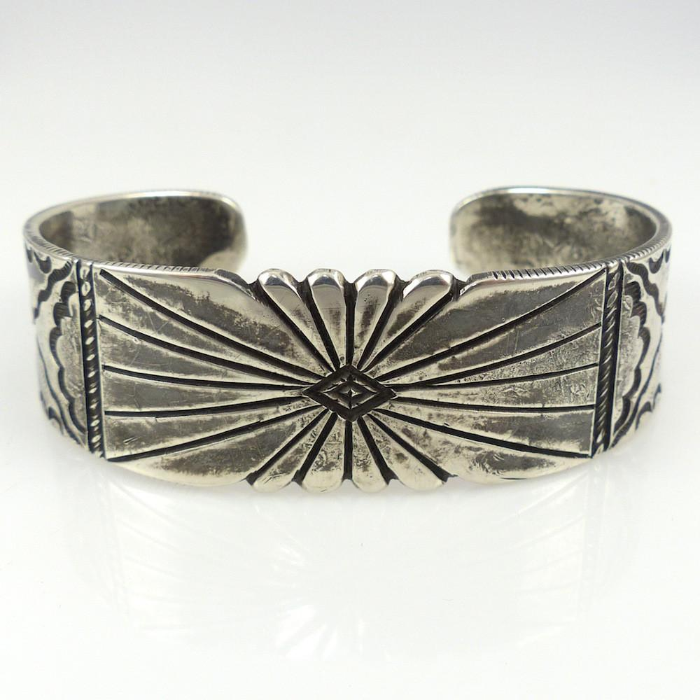 Silver Stamped Cuff - Jewelry - Tom Dewitt - 1