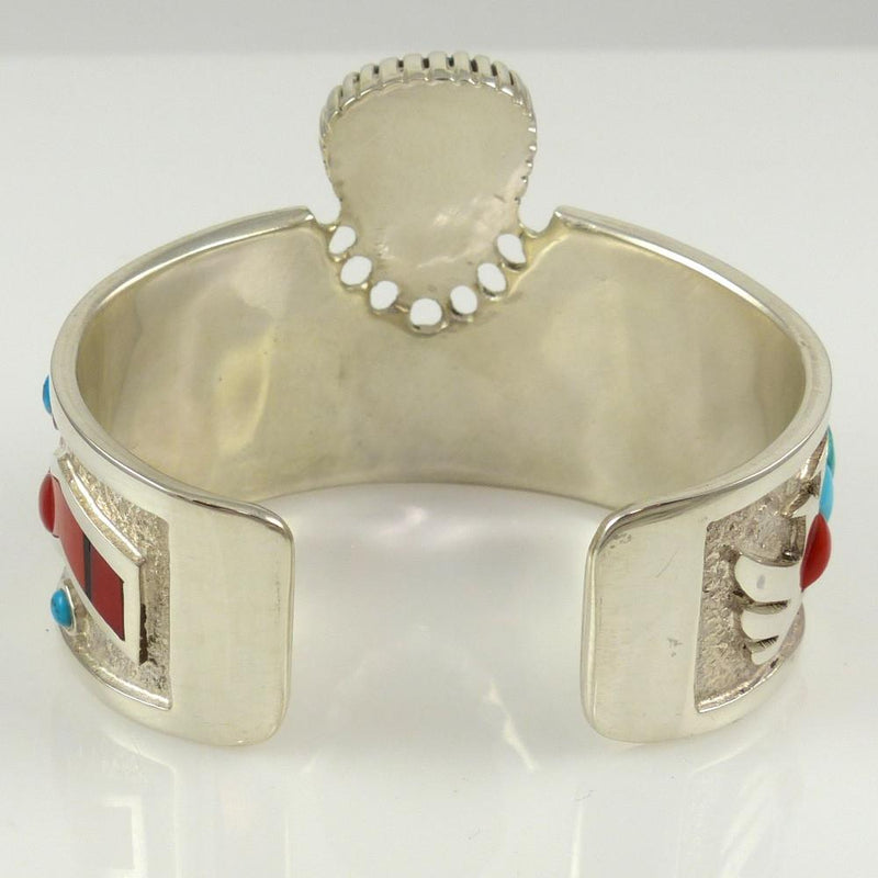 Turquoise and Coral Cuff - Jewelry - Michael Perry - 7