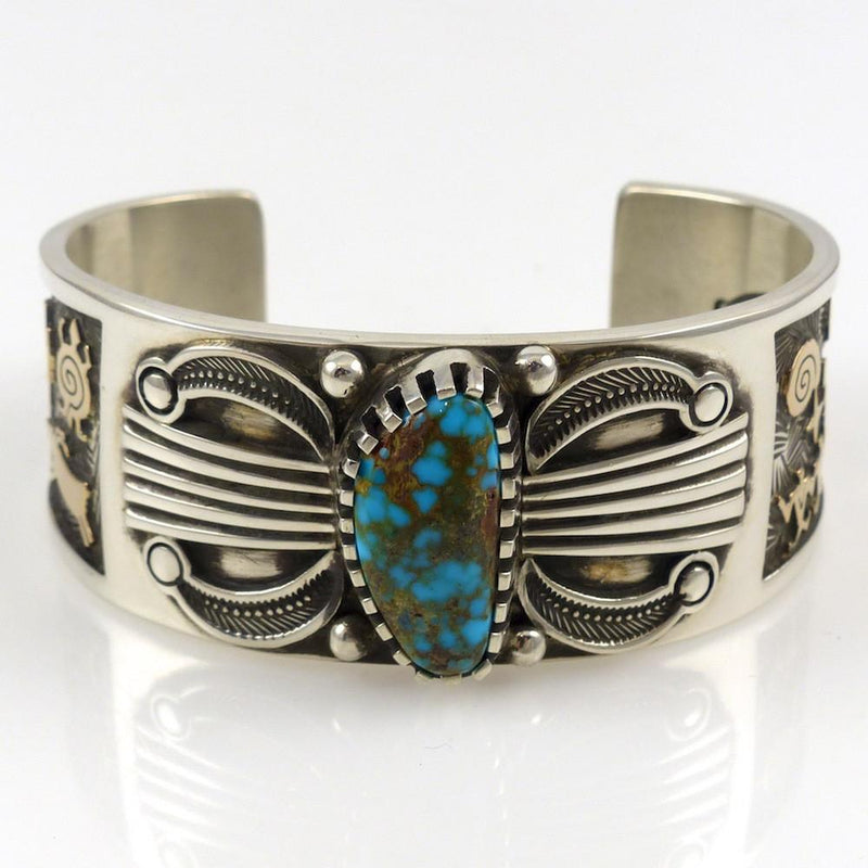 Candelaria Turquoise Cuff - Jewelry - Arland Ben - 3