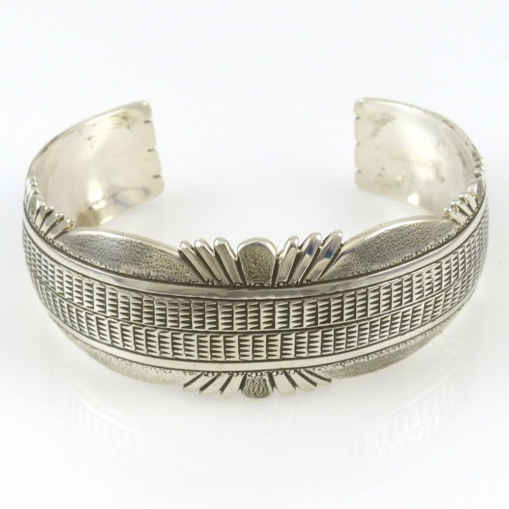 Stamped Cuff - Jewelry - Nathan Bedonie - 1