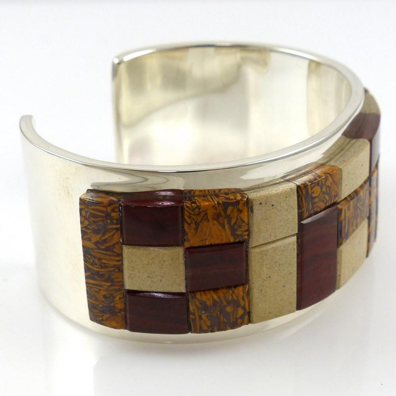 Jasper Inlay Cuff - Jewelry - Tommy Jackson - 4