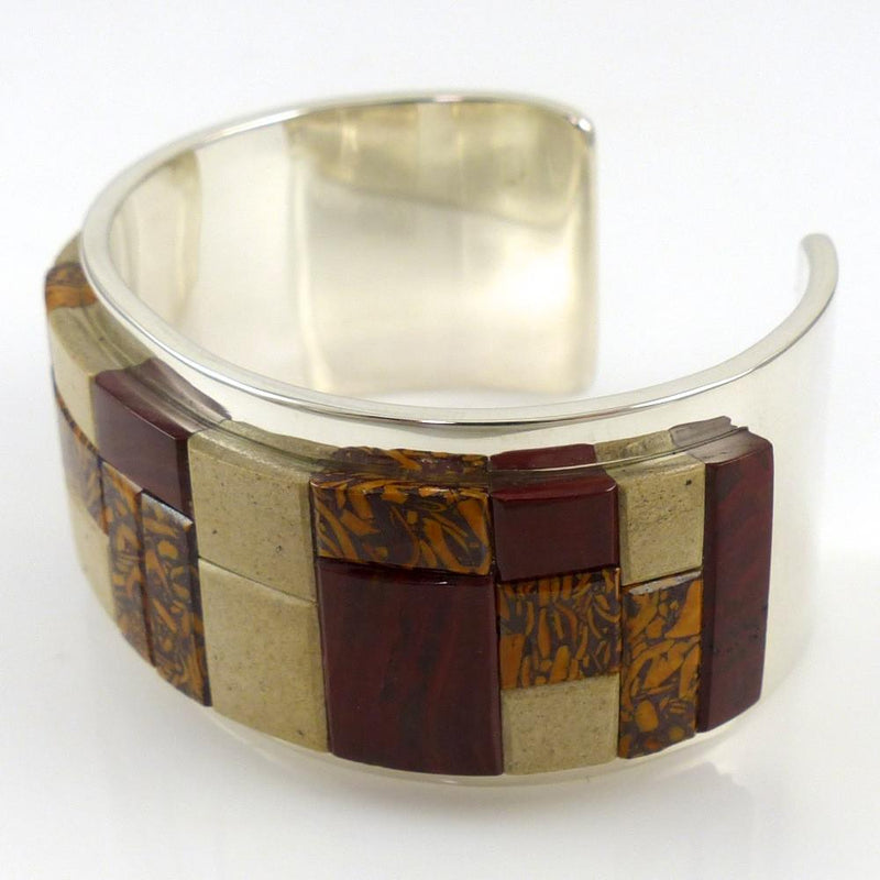Jasper Inlay Cuff - Jewelry - Tommy Jackson - 3