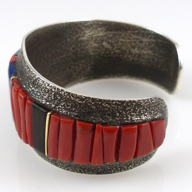 Cobble Inlaid Cuff - Jewelry - Wes Willie - 4