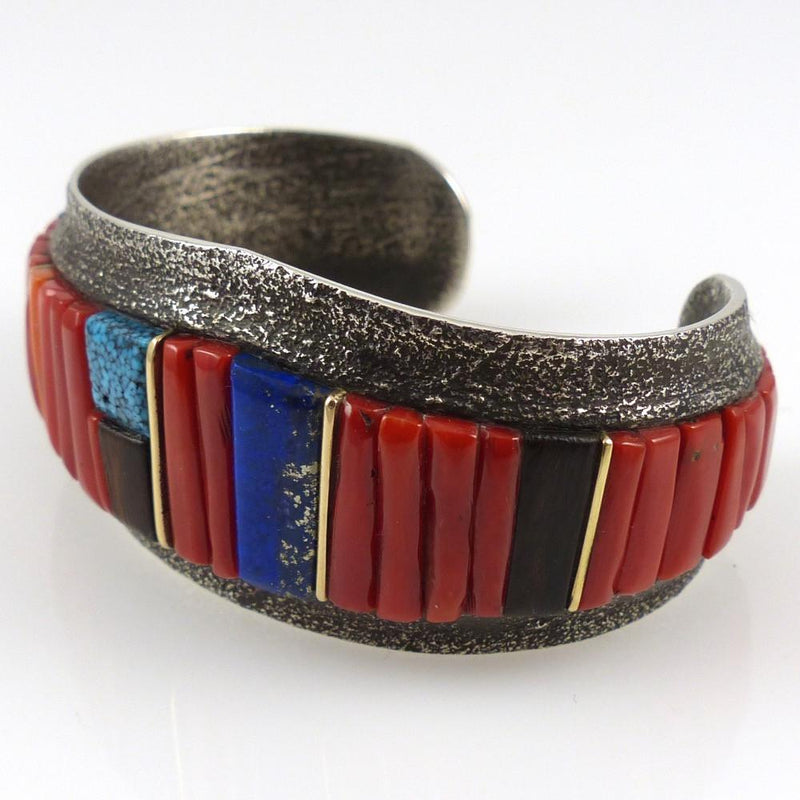 Cobble Inlaid Cuff - Jewelry - Wes Willie - 3