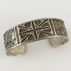 """Four Seasons"" Cuff - Jewelry - Cordell Pajarito - 1"