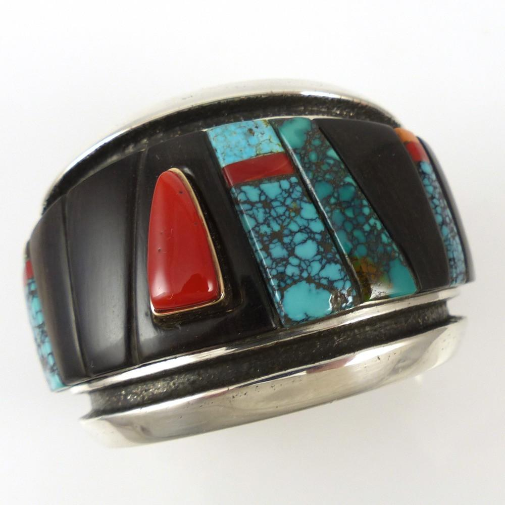 Cobbled Inlay Cuff - Jewelry - Edison Cummings - 1