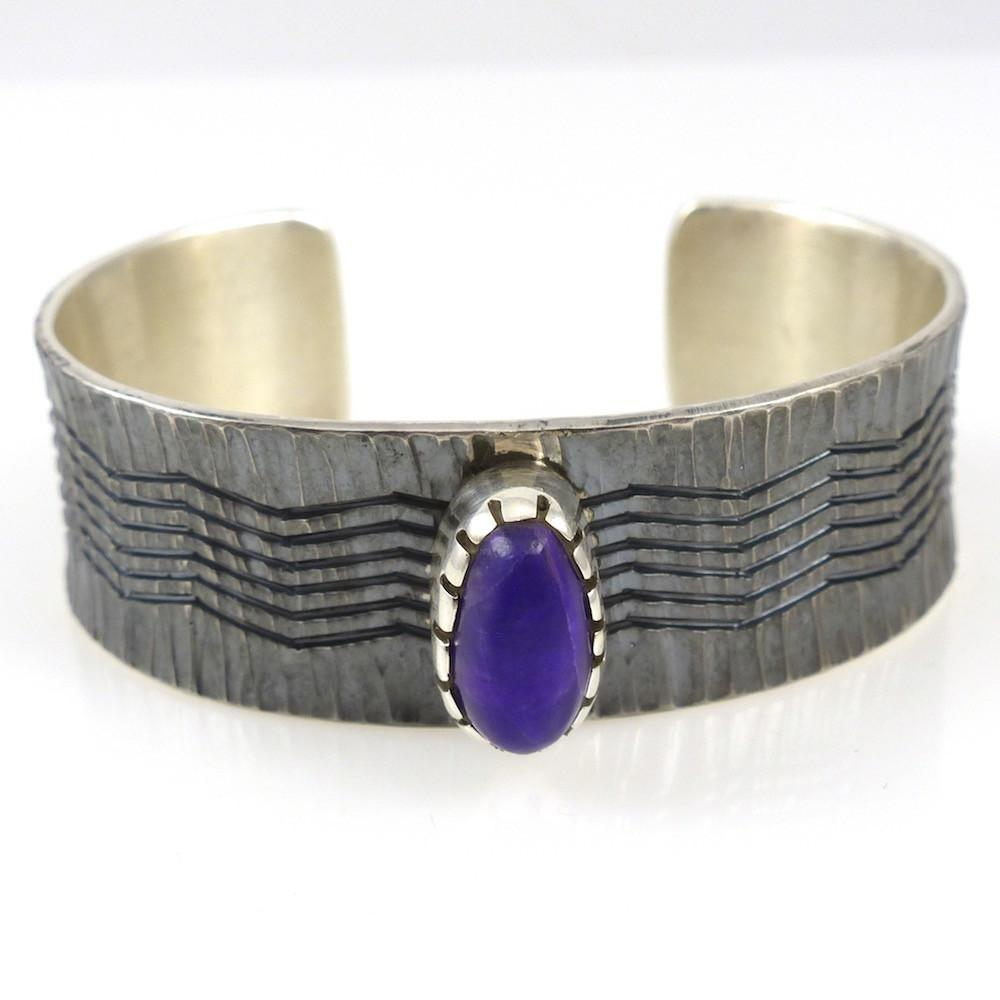 Sugilite Cuff - Jewelry - Pete Johnson - 1