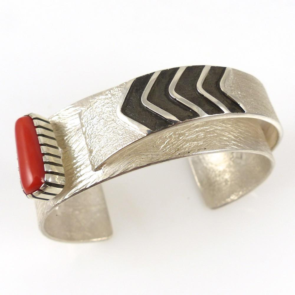 Coral Cuff - Jewelry - Mark Roanhorse - 1
