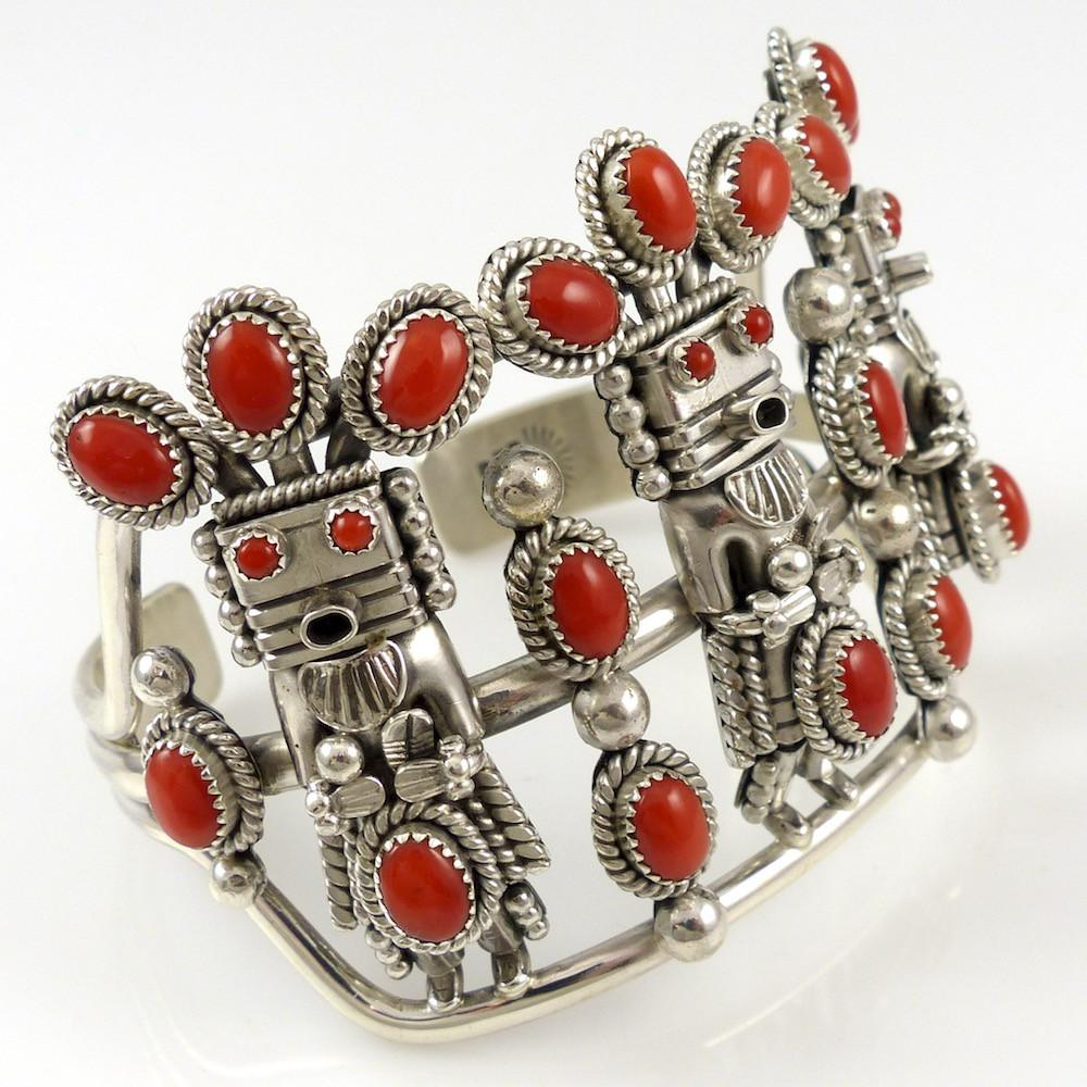 Coral Yei Cuff - Jewelry - Toby Henderson - 1