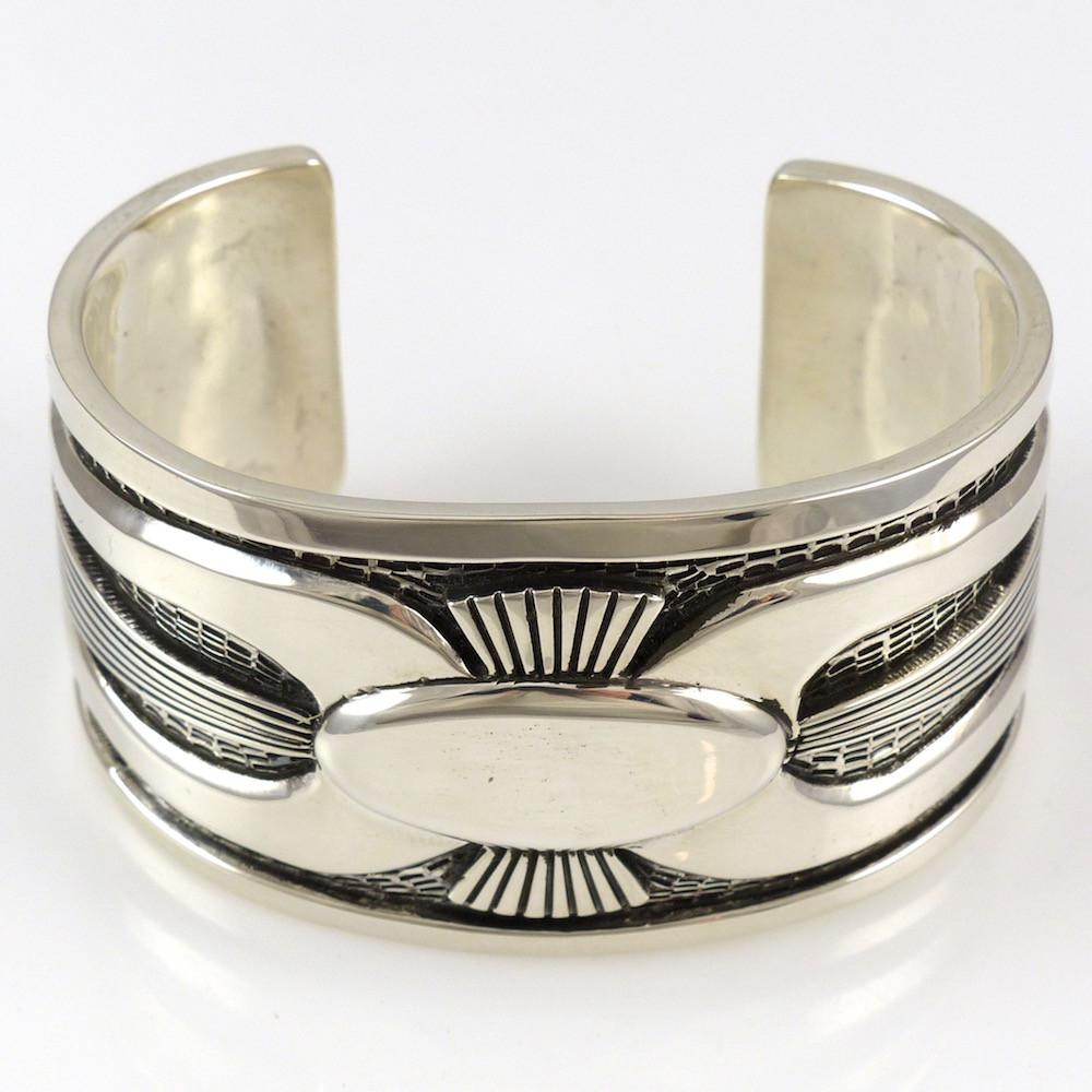 Silver Ketoh Cuff - Jewelry - Allison Lee - 1