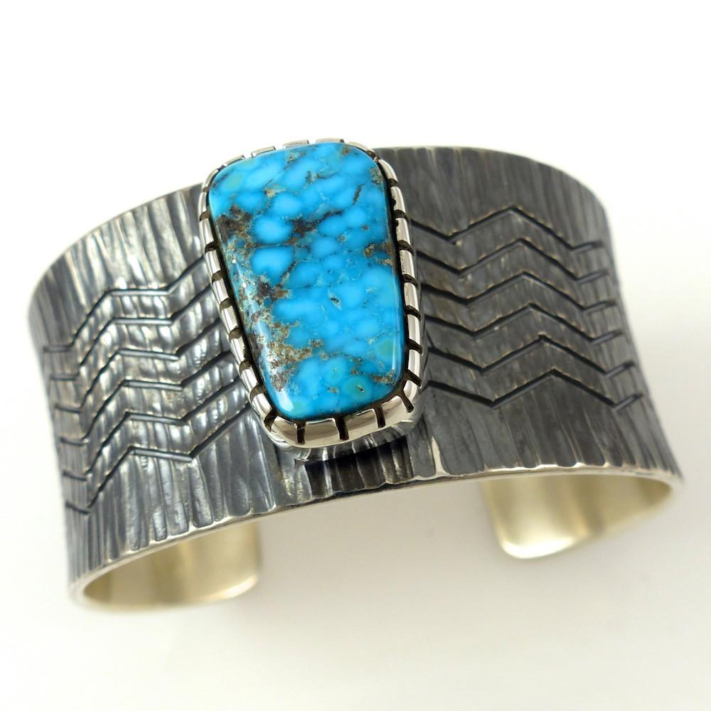Turquoise Mountain Cuff - Jewelry - Pete Johnson - 1