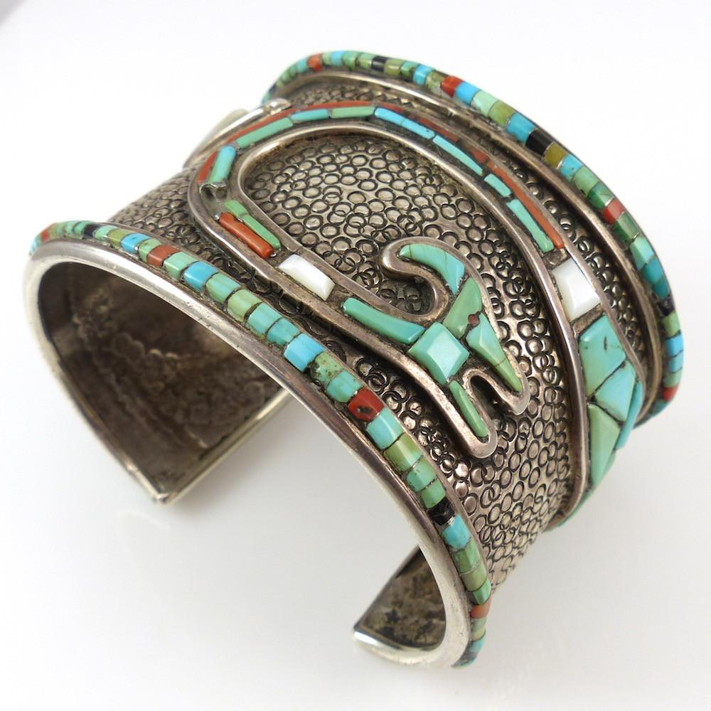 1970s Water Serpent Cuff - Jewelry - Vintage Collection - 1