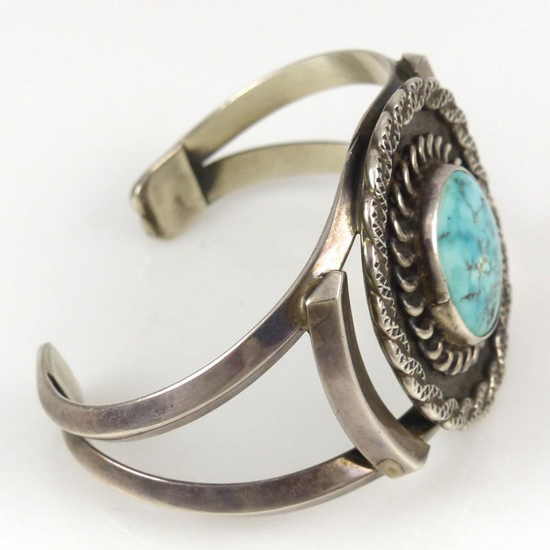 Number Eight Turquoise Cuff - Jewelry - Vintage Collection - 3