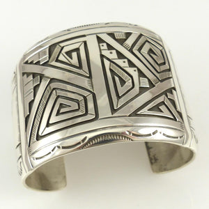 Silver Overlay Cuff - Jewelry - Peter Nelson - 1