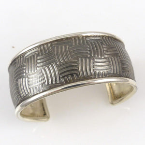 Basket Weave Cuff - Jewelry - Pete Johnson - 1