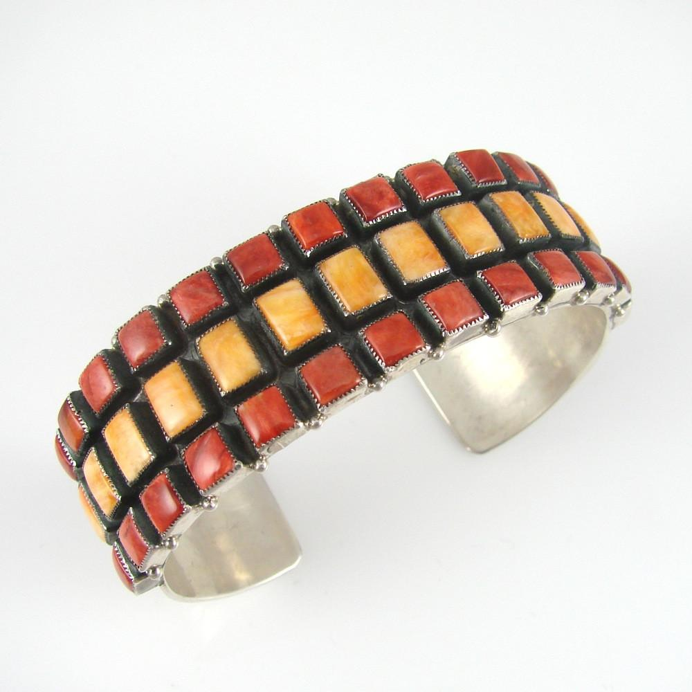 Multi-Cab Row Bracelet - Jewelry - Don Lucas - 1
