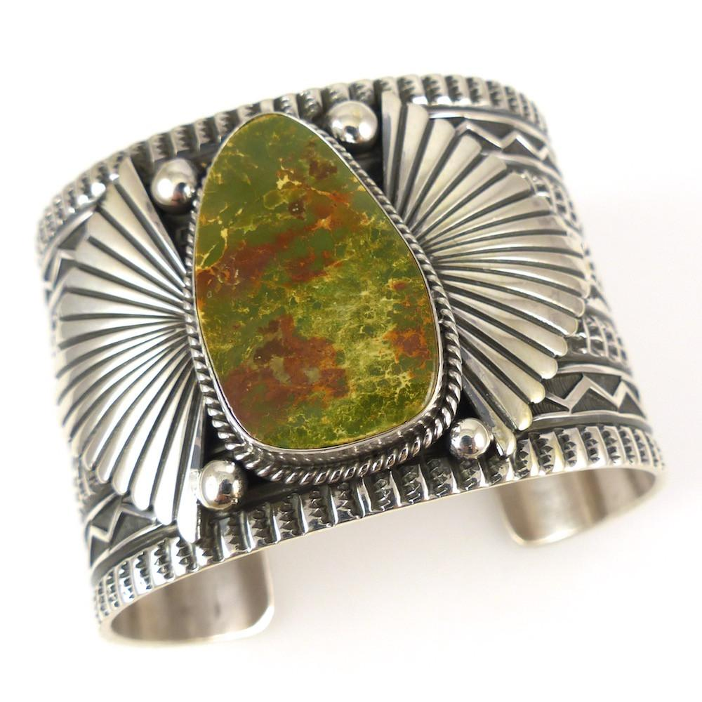 Royston Turquoise Cuff - Jewelry - Sunshine Reeves - 1