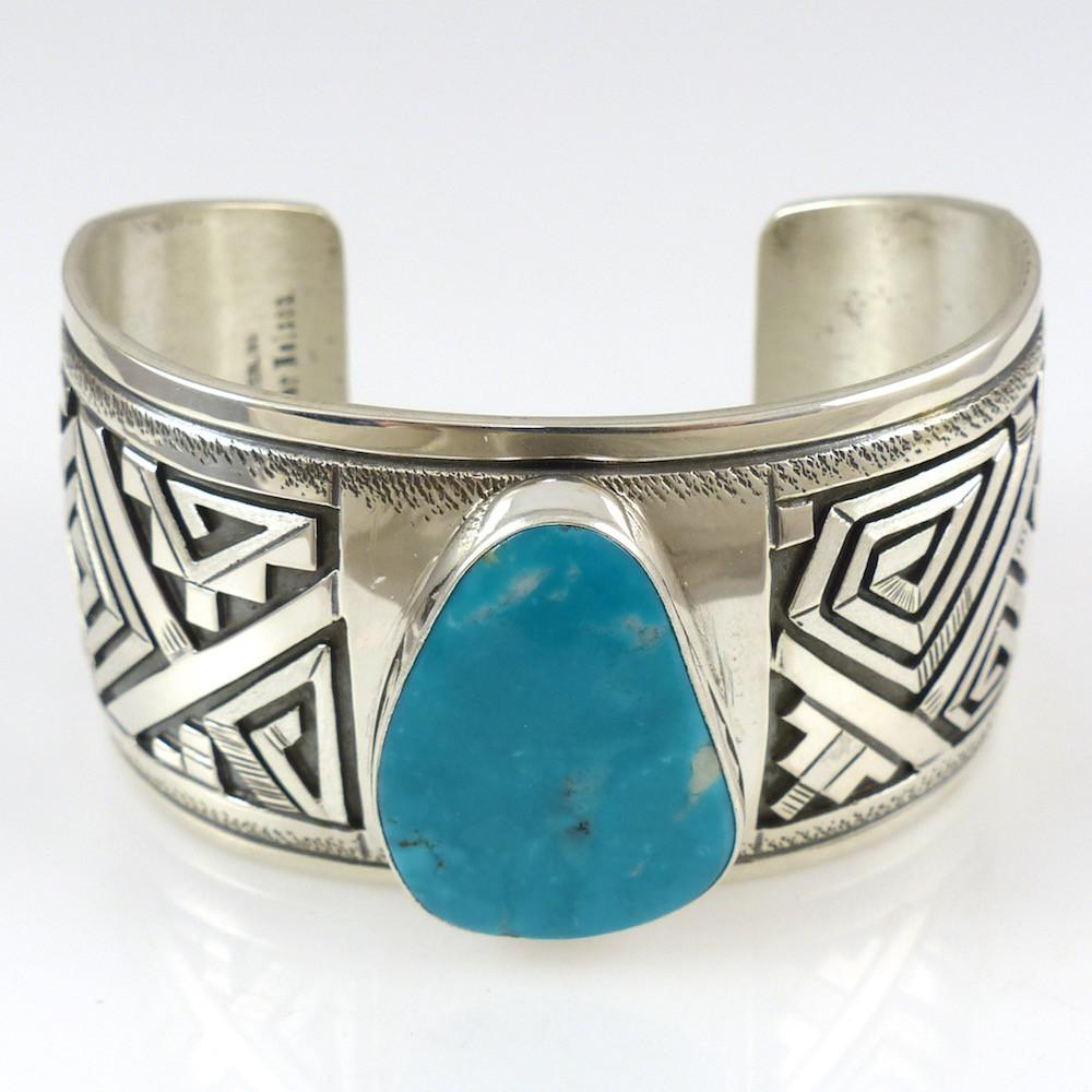 Kingman Turquoise Cuff - Jewelry - Peter Nelson - 1