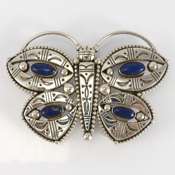 Lapis Butterfly Buckle
