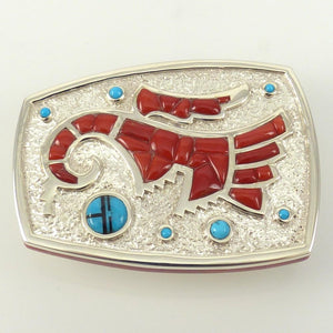 Prehistoric Parrot Buckle - Jewelry - Michael Perry - 1