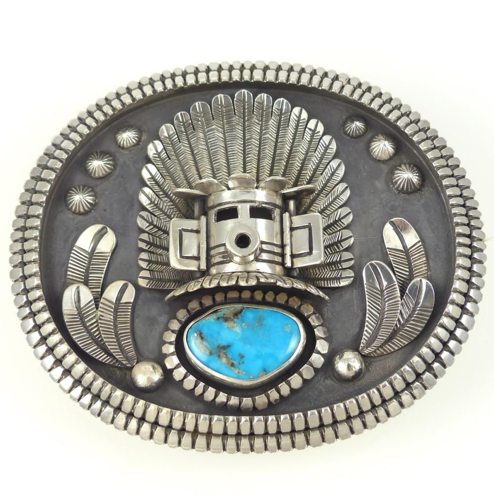 Morning Kachina Buckle - Jewelry - Toby Henderson - 1
