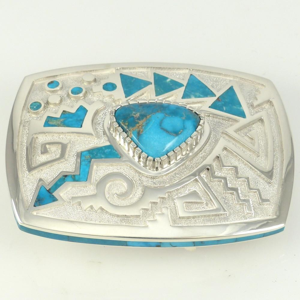 Bisbee Turquoise Buckle - Jewelry - Michael Perry - 1
