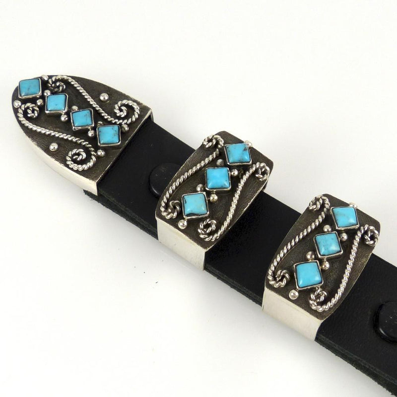 Sleeping Beauty Turquoise Ranger Set - Jewelry - Ernest Rangel - 3
