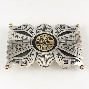 """Man in the Maze"" Buckle - Jewelry - Jason Takala - 1"
