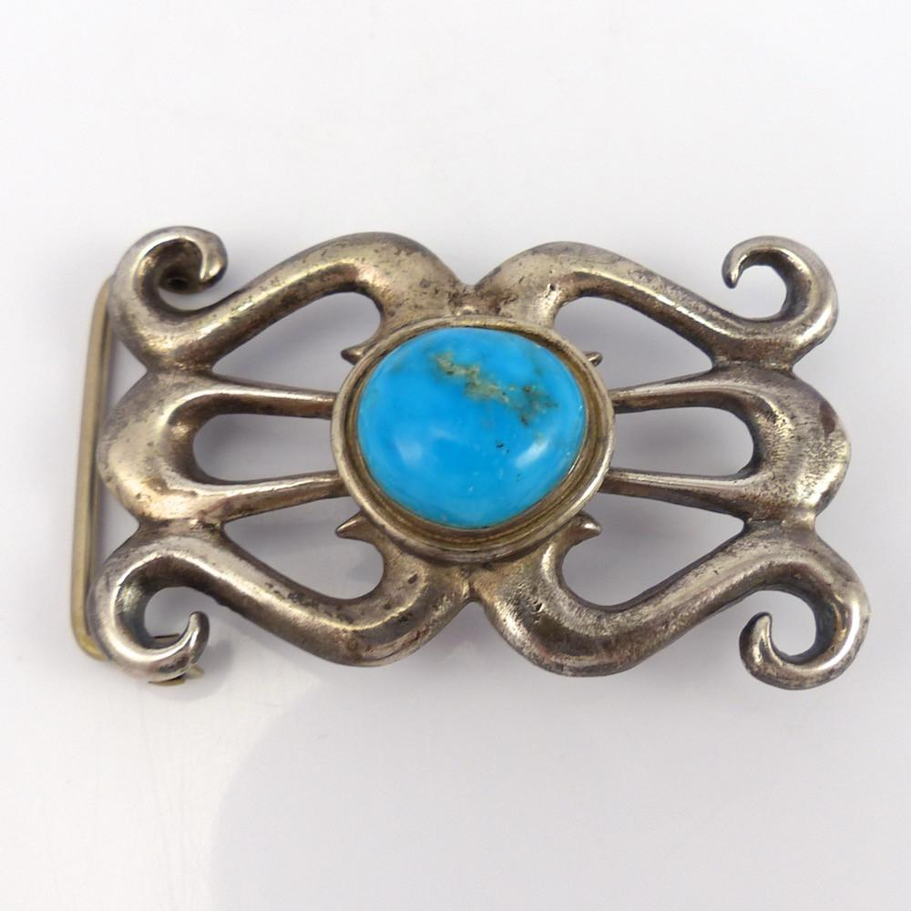 Morenci Turquoise Buckle - Jewelry - Vintage Collection - 1