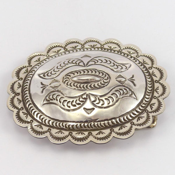 Stamped Concha Buckle