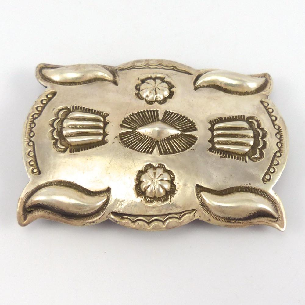 Silver Buckle, Jed Deutschman, Jewelry, Garland's Indian Jewelry