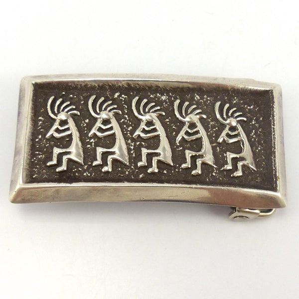 Kokopelli Buckle, Alvin Thompson, Jewelry, Garland's Indian Jewelry