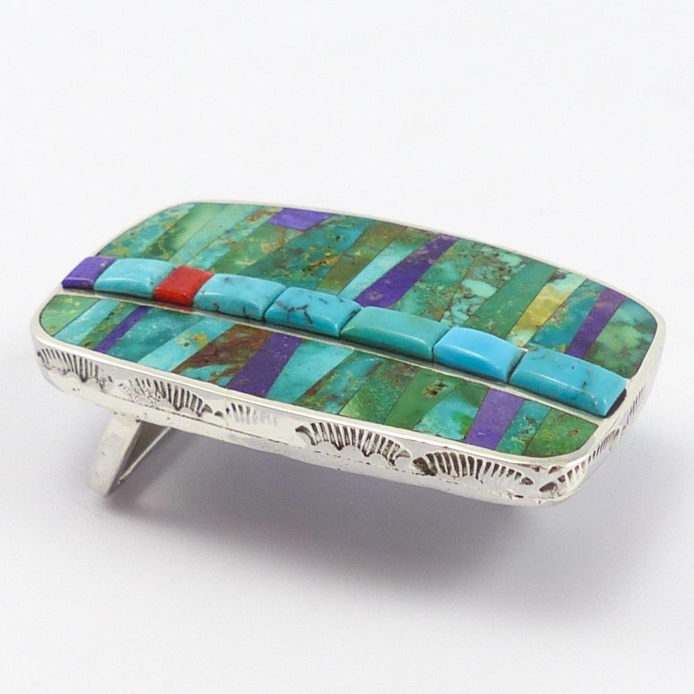 Colorful Inlay Buckle