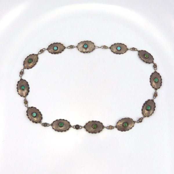1930s Link Concha Belt, Vintage Collection, Jewelry, Garland's Indian Jewelry