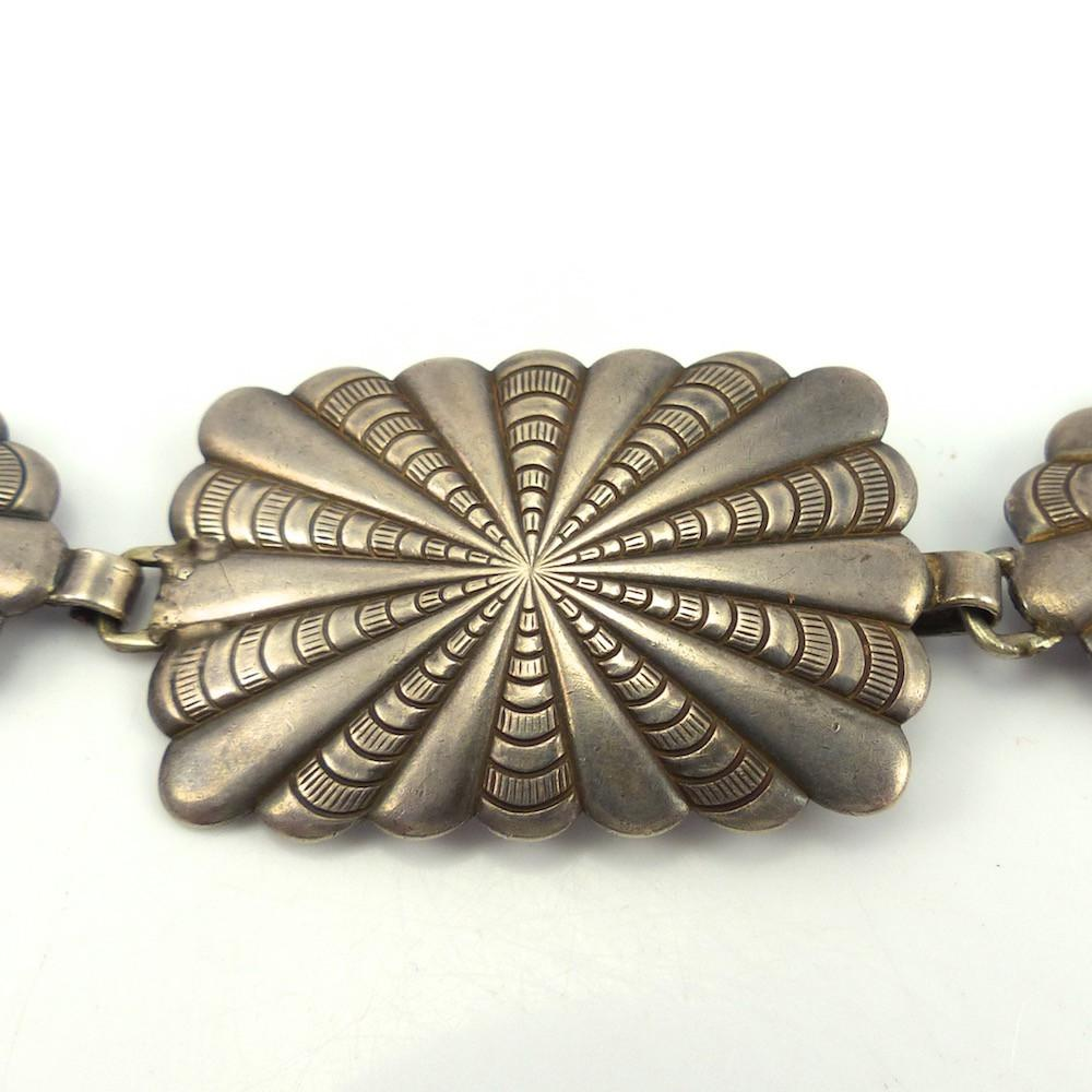1950s Link Concha Belt, Vintage Collection, Jewelry, Garland's Indian Jewelry
