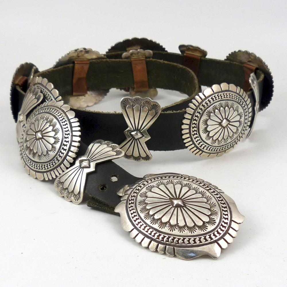 1980s Concha Belt - Jewelry - Vintage Collection - 1
