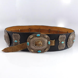 1940-50s Concha Belt - Jewelry - Tsosie - 1