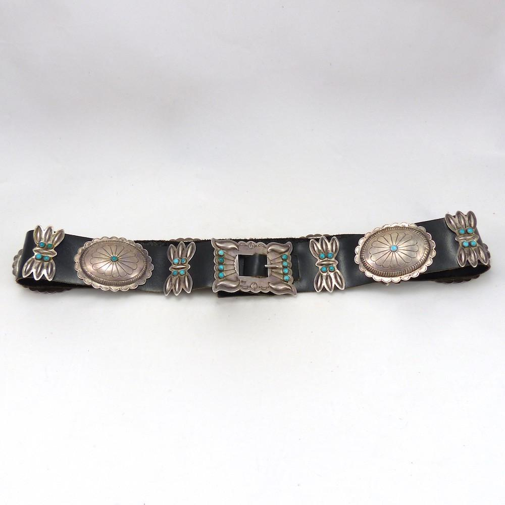 1940s Concha Belt, Vintage Collection, Jewelry, Garland's Indian Jewelry