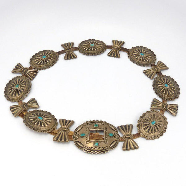 1930s Concha Belt, Vintage Collection, Jewelry, Garland's Indian Jewelry