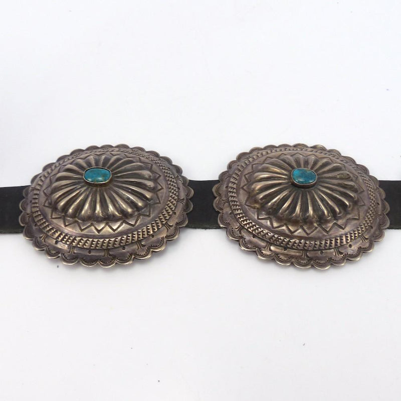 1970s Concha Belt, Jack Adakai, Jewelry, Garland's Indian Jewelry