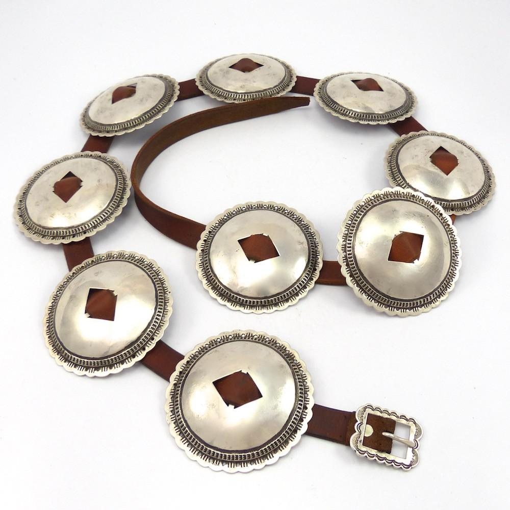 First Phase Style Concha Belt, Tom Dewitt, Jewelry, Garland's Indian Jewelry
